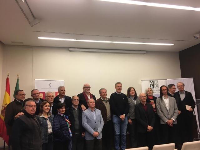 Algunos miembros del jurado del XXVI Premio Andalucía de la Crítica