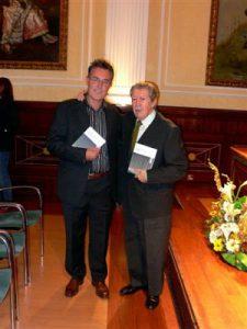 Con Manuel Alcántara