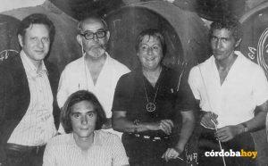 FOTO JUVENAL SOTO1septiembre de 1992. Fallo primer Premio cero. Con PacooriaFuertesyAntonioGala