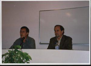 Foto José María VAz de Soto3 con Francisco Morales LomasFotos-con-escritores-Vaz-de-Soto