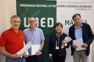 Jurado de los premios literarios UNED Malaga