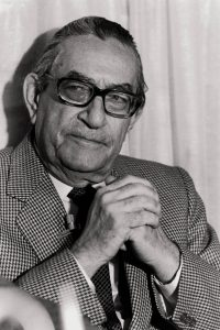 Luis Rosales, poet The poet awarded with the Cervantes prize in 1982  (Photo by Quim Llenas/Cover/Getty Images)