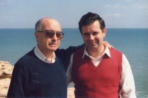 Miguel Fernández y Francisco Rincón. Aguadú. Melilla 1985
